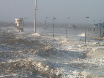meer:wind: Orkan an der Nordsee