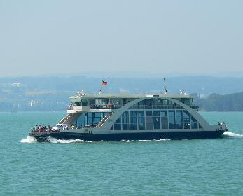 Die Tabor das neue Fährschiff der Bodenseeflotte