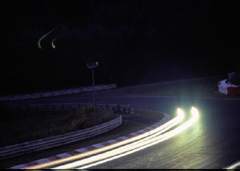 Nachts an der Steilstrecke