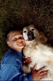 Friends ( ein Kinderfoto von mir / ich bin der Linke :-P )