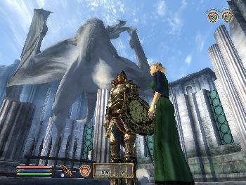 Der König rettet die Welt und versteinert dabei zu einem riesigem Drachenmonument (Akatosh) (1024x768)