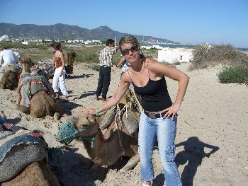 Ich und das Kamel Tunesien 09/06