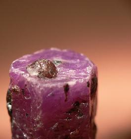 Granat auf Rubin