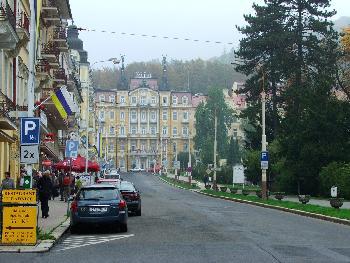 Hauptstrasse in Marienbad