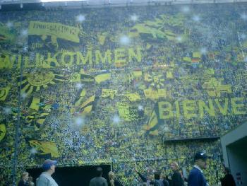 WM 2006 Installation am Dortmunder Hbf