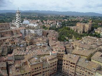 Siena, Konkurent von Florenz (Toskana)