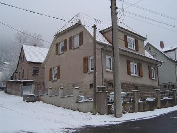 Caro's Haus im Winter