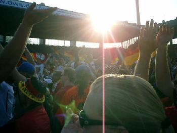 Viertelfinale im Bochumer Ruhrstadion