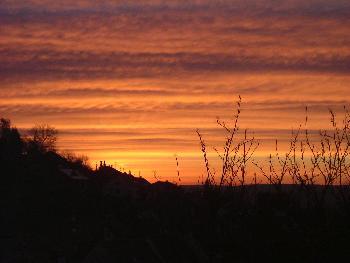 Romantik am frühen Morgen ...