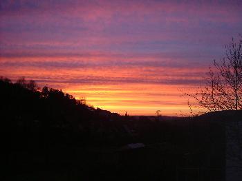 Farbenspiel am Himmel ...( 6.03.07 )
