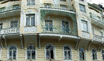 Jugendstil in Perfektion - eines der schönsten Gebäude von Marienbad