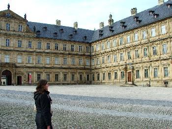 Bamberg - neue Residenz samt Owlet