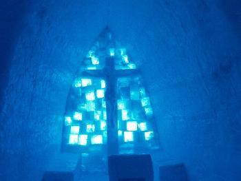 Kirche aus Eis