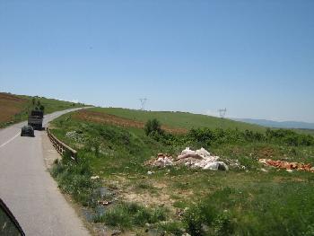 Auf dem Weg nach Prishtinë