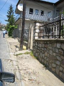 Die Straße zum Deutschen Büro in Prishtinë