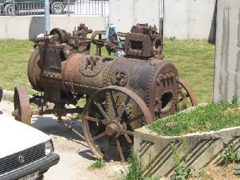 Dampf-Lokomotive in Prishtinë 1