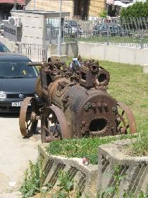 Dampf-Lokomotive in Prishtinë 2