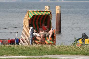 Im Strandkorb (Langballig Au)