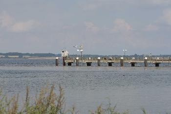 Schiffsanleger in Langballig Au