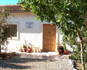 Hauseingang zur Vivenda Vale Verde