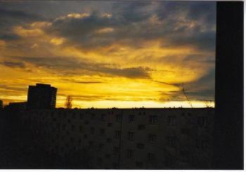 gigantischer Sonnenuntergang, Frühjahr`07