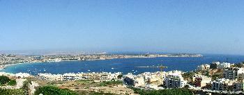 Mellieha Bay (Panorama)