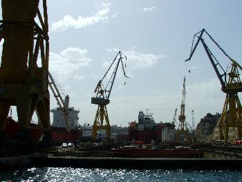 Trockendock 1, eines der größten in Europa (Grand Harbour)
