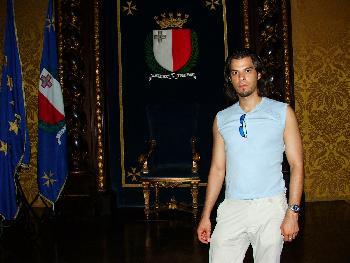 Im Thronsaal, Grandmasters Palace, Valetta