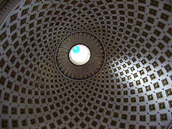 Rotunda Kuppel-Szenerie