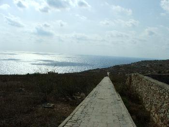 Der Weg zu Mnajdra