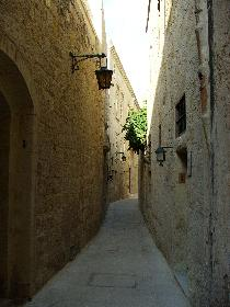 Die Strassen von Mdina 1