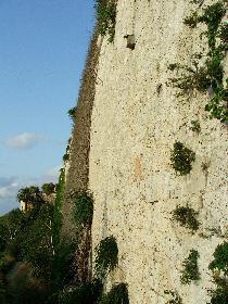 ...und so hoch sind die Mauern in Mdina
