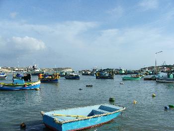 Der Hafen von Marsaxlokk