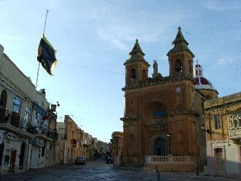 Zentraler Platz in Marsaxlokk