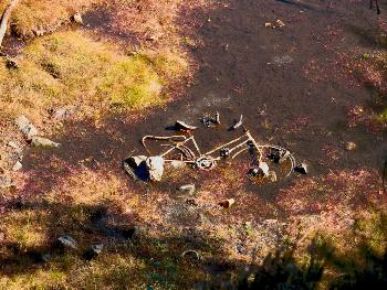 Das ertrunkene Fahrrad