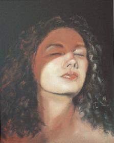 küss mich, Ra ©2003 / Pastell auf Karton / 30x42
