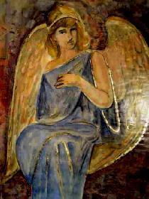 Engel in blau 03