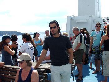 Auf Gozo Ferry, Hinfahrt