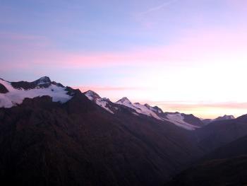 Sonnenuntergang zum Einstand 2006