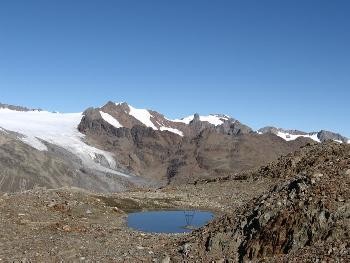 Bergsee - zum Baden leider eine Spur zu kalt ;)