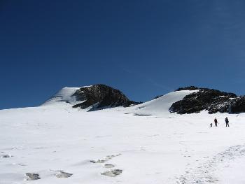 Der weite Weg zum Gipfel...da hatte ich mir ganz schön 'was vorgenommen!