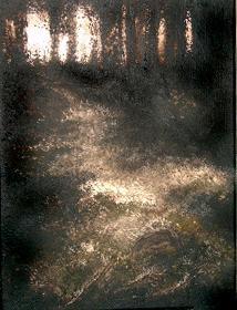 waldweg  (Acryl) ©2005
