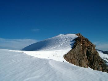 Die letzten Meter bis zum Gipfel