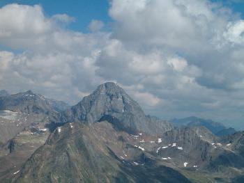 Piz Linard, der höchste Silvrettaberg