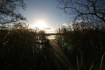 Sonnenuntergang am Niehuser See