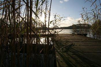 Sonnenuntergang am Niehuser See ll