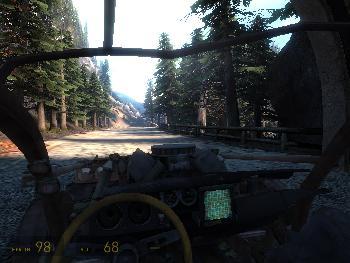 5. Durch den Wald rasen