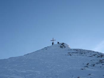 Gipfel des Kamor