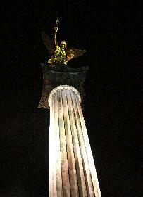 Sylverster 2008 am Friedensengel in München