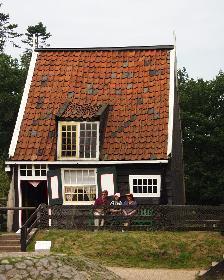 Fischerkate (Fischerhaus in Arnheim - Nederland)